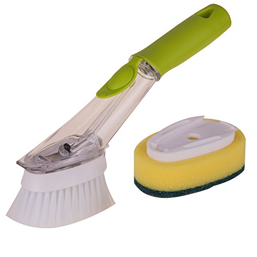 Kitchen Plastic Decontamination Cleaning Brush Dishwashing B