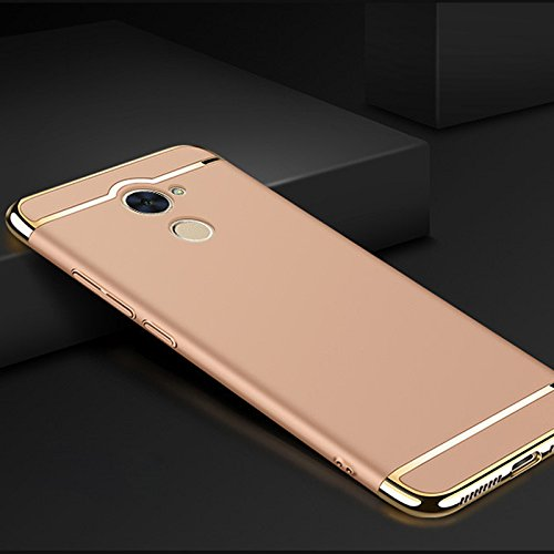 Huawei Y7 Prime Case, Luxury Removable 3 in 1 Hard Plastic Case for Huawei  Enjoy 7 Plus 5 5 inch PC Plating Matte Cover Case