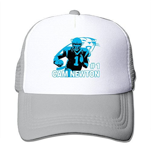 LINNA Carolina #1 Football Player Cotton Hats Jogging Sanpback Cap Hat For Outdoor Sports Ash
