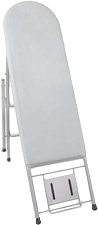 Tabla De Planchar Escalera Plegable Portátil Resistencia A Altas Temperaturas Antideslizante Marco De Descanso De Hierro, 100 Kg De Carga (Color : Silver, Size : 96x34x85cm): Amazon.es: Hogar