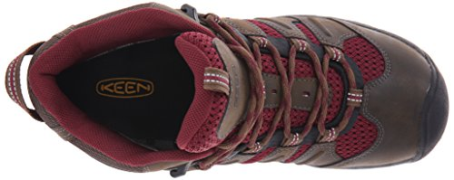 Keen Women's Koven Mid Hiking Boot Cascade Brown/Zinfandel free shipping amazon 260ZjbF