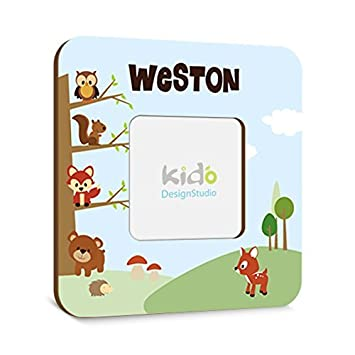 Amazon.com : Personalized Woodland Forest Friends Picture Photo ...