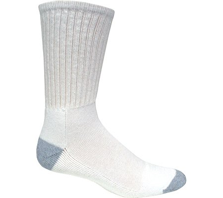 Magnum Men's DC-1 Sock Crew Socks,White,L US