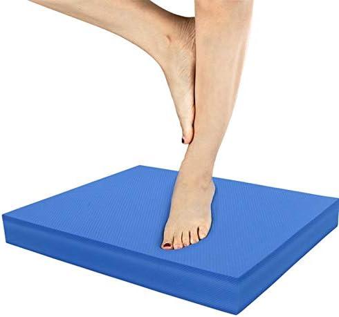 Azul Esterilla de Yoga Almohadilla de Espuma de Equilibrio Recomendada por terapeutas 40x35x5 Antideslizante Suave para Entrenamiento de Fitness LuMon Almohadilla de Equilibrio Impermeable