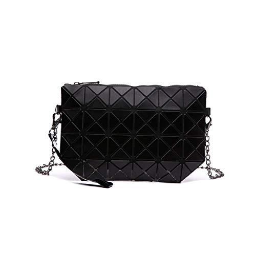 Américain Style Black Bandoulière À Cosmétique Mode Lady Et Géométrique Sac Ajlbt Motif Européen t7TYwUqqx