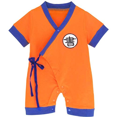 (ILOBy Funny Costume Chinese Style Romper Anime Naruto Cosplay Jumpsuit)