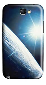 Starlight Polycarbonate Hard Case Cover for Samsung Galaxy Note II N7100