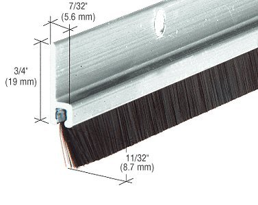 long bristle weatherstrip - 2