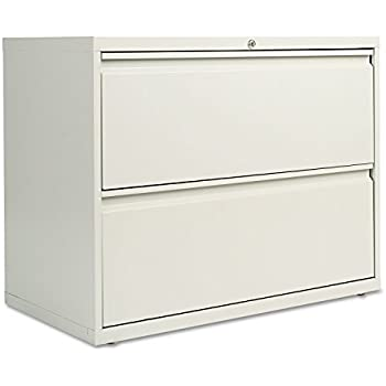 Amazon.com: Alera 2 Drawer Lateral File Cabinet, 36-Inch-by-19 1/4 ...