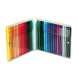 Pentel Fine Point Color Pen Set, 36 Assorted Colors, 36/Set