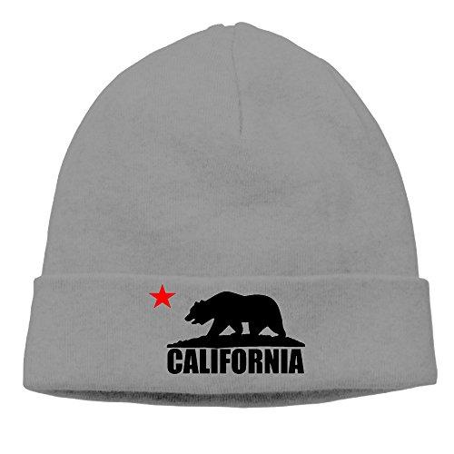 Knit americana California oso bandera DeepHeather Hat la wFwIpq