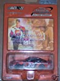 Tony STewart #20 2002 Home Depot Phillips Pontiac Grand Prix Orange Metalflake Color Winston Cup Championship Action 1/64 With Hologram Card