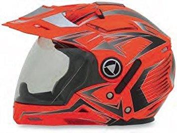 AFX FX-55 Unisex-Adult Full-Face-Helmet-Style 7-In-1 Helmet (Multi Safety Orange, XX-Large)