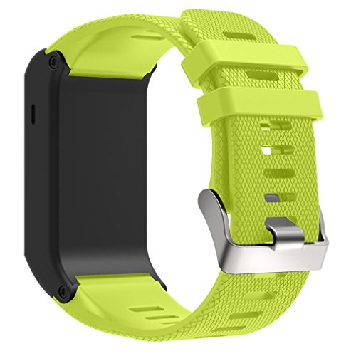 Dreaman New Fashion Sports Silicone Bracelet Strap Band For Garmin vivoactive HR Green - Hr Womens Green