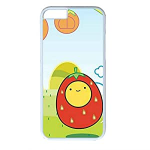 Iphone 6 PC Hard Shell Case I Love Eggs White Skin by Sallylotus