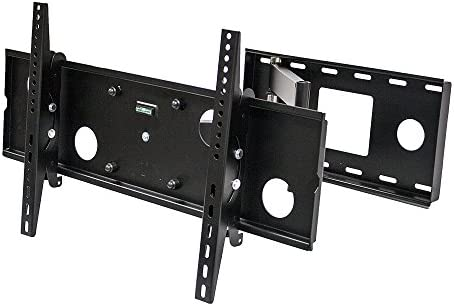 NavePoint Articulating Single Arm Swivel Tilt LCD LED TV Wall Mount 37-60 Inches Black