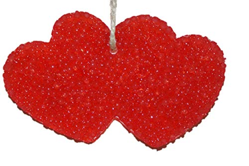 ChicWick Car Candle Mulberry Hollar Double Hearts Shape Car Freshener ()