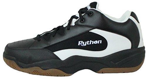 Python Bred (ee) Bredde Indendørs Sort Midten Størrelse Racquetball (squash, Badminton, Volleyball) Sko