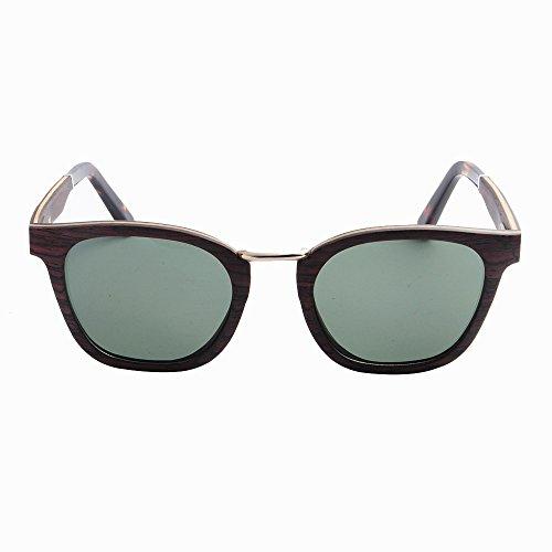 libre del aire Playa sol sol los Protección al de madera hechas Ojos mano Gafas TAC de hombres la Lens a frescas Retro polarizados de Marrón pesca que esquí de go de de conduce Gafas ULTRAVIOLETA marco Gafas w0SAqCn