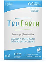 Tru Earth Hypoallergenic, Eco-friendly & Biodegradable Plastic-Free Laundry Detergent Sheets/Eco-Strips fo