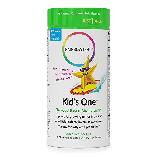 Rainbow Light Kid's One Multivitamin/Mineral - 30 Tab