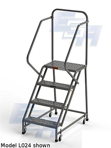 EGA L006 Industrial Rolling Ladder 4-Step, 20