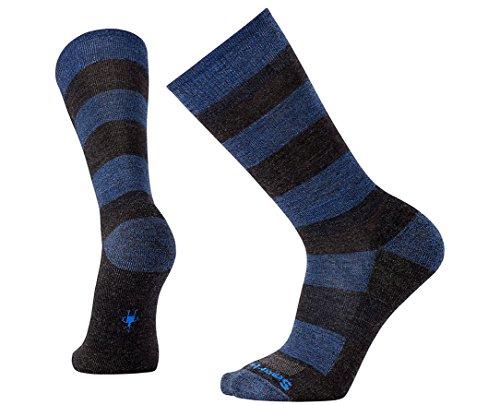 Smartwool Men's Premium Gimsby Crew Socks (Charcoal Heather) Large