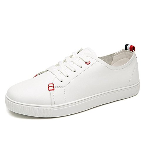 de Informales Microfibra Otoño Zapatos Comfort Punta Rojo Rojo Sneakers Primavera Plano tamaño Verde Mujer Zapatos Color Mujer Redonda Negro 38 Tacón de Verano qpAxtI