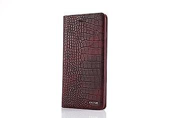 4e854f044870 【Mobile beauty】 iphone7 クロコダイル ワニ柄 鰐紋 クロコ人気 財布 メンズ 長財布