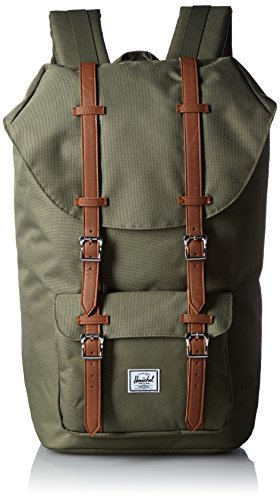 Herschel Supply Company , Zaino Casual Unisex adulti, 25 L, Multicolore (Deep Litchen Green/ Tan)
