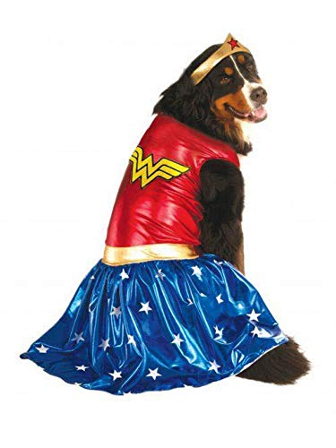 Rubie's Big Dog Wonder Woman Dog Costume -