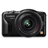 Panasonic Lumix DMC-GF3XK 12.1 MP Micro Four Thirds Compact System Camera with 3-Inch Touch-Screen LCD and LUMIX G X Vario PZ 14-42mm/F3.5-5.6 Lens