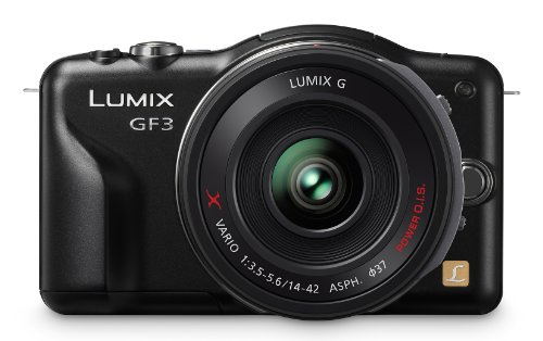 Panasonic Lumix DMC-GF3XK 12.1 MP Micro Four Thirds Compa...