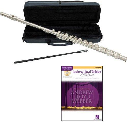 Andrew Lloyd Webber Flute Pack - Includes Flute w/Case & Accessories & Andrew Lloyd Webber Play Along Book