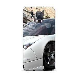 XiFu*MeiDurable Protector Case Cover With San Gimignano Plaza Mayor Hot Design For Galaxy S5XiFu*Mei