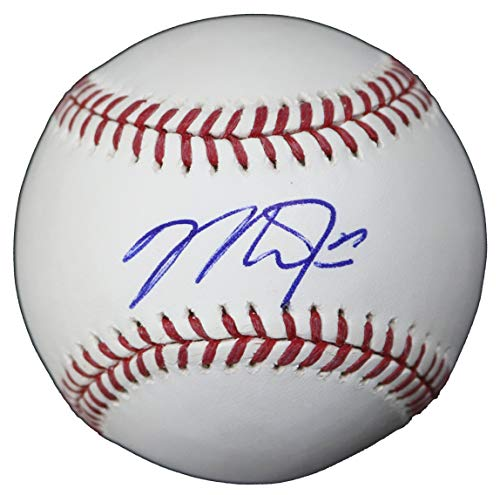 - Mike Trout Los Angeles Angels Signed Autographed Rawlings Official Major League Baseball Sweet Spot COA