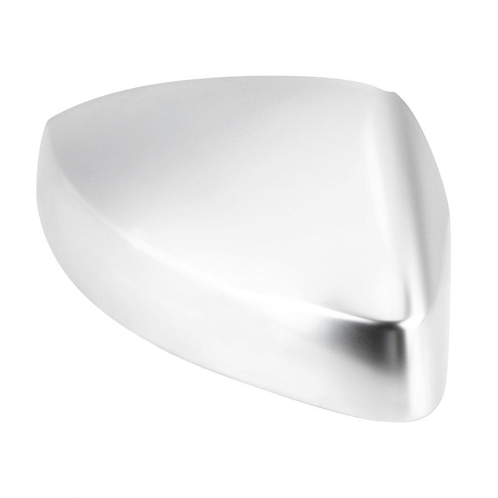 1 coppia tappi retrovisore argento A3 Side Wing Mirror Covers cromato opaco specchio housing protezione per A3 S3 8 V 13 18