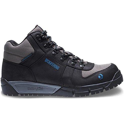 Wolverine Men's Mauler Hiker Composite Toe Waterproof Work Boot, Black, 12 W US -