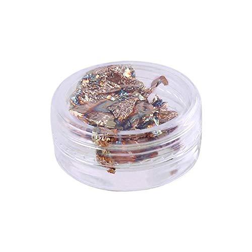 Glitter Tinfoil Uv Gel Cryal Nail Art Transfer Foil sticker,Gold