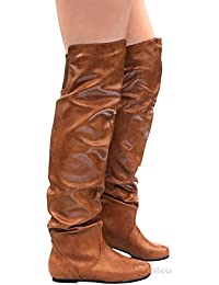 Women's Over The Knee Slouchy Boots