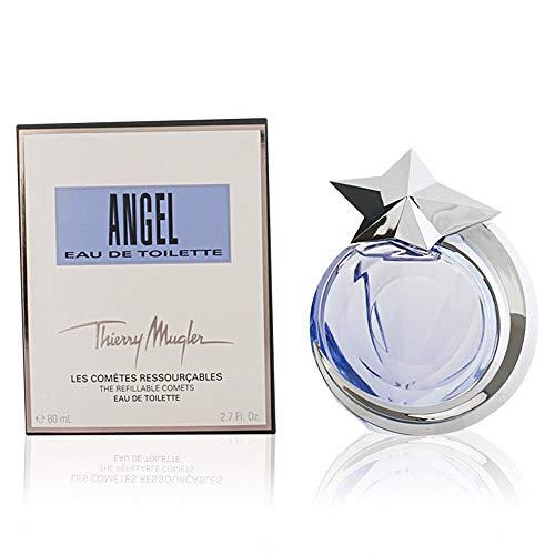 Thierry Mugler Eau de Toilette Spray Refillable for Women, Angel Comet, 1.4 Ounce ()