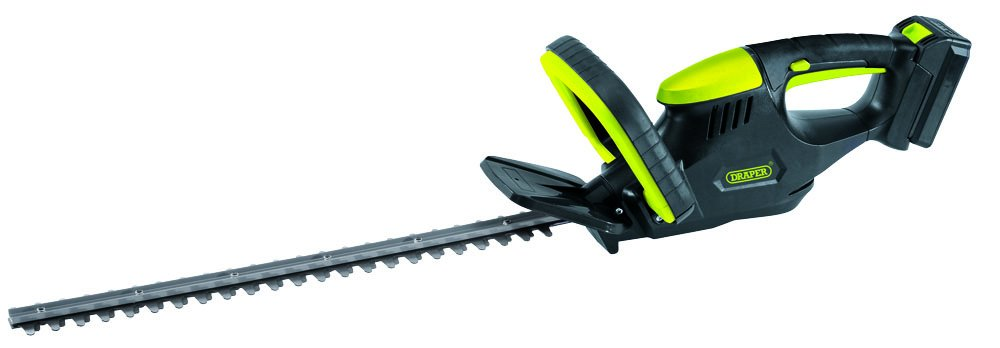 Draper 75291 18V Cordeless Hedge Trimmer, 18 V, Yellow