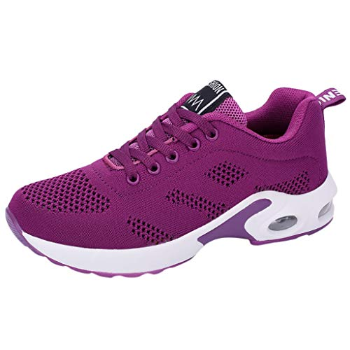 (OrchidAmor 2019 Fashion Women's Mesh Fitness Sport Sneakers Casual Shoes Student Mesh Breathable Running Shoes)