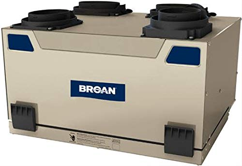 Broan HRV120T 115 CFM Heat Recovery Ventilator with Top Ports