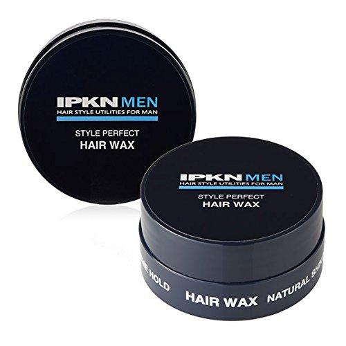 IPKN MEN Style Perfect Hair Wax Korean Men Hair Wax (50 Style Makeup And Hair)