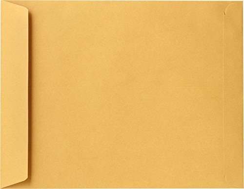 10 x 15 Open End Envelopes - 28lb. Brown Kraft (500 Qty.) Envelopes Store