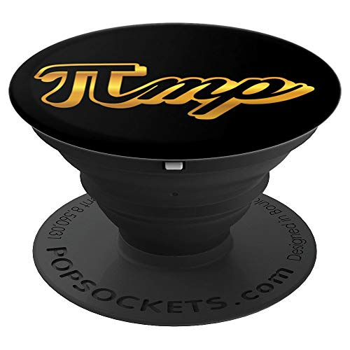 Pi Day Pimp Funny Math Teacher Student Gift - PopSockets Grip and Stand for Phones and Tablets -