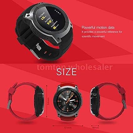 Amazon.com: FS Fahm S958 Smart Watch Sport GPS Waterproof ...