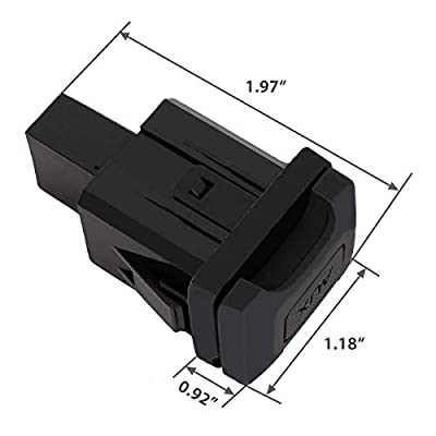 Auxiliary Input Jack Aux Port for Honda Civic 2006-2011, 2009-2011 Honda CRV Stereo Adaptor Replaces Part 39112-SNA-A01 39112SNAA01: Car Electronics