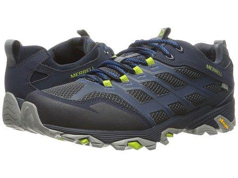 (メレル) MERRELL メンズランニングシューズスニーカー靴 Moab FST Waterproof [並行輸入品] B06XK1V2KB 25.5 cm ネイビー